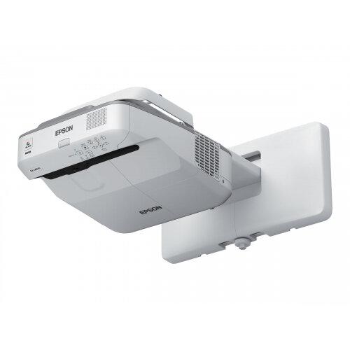 Epson EB-680S - 3LCD projector - 3500 lumens (white) - 3500 lumens (colour) - XGA (1024 x 768) - 4:3 - LAN