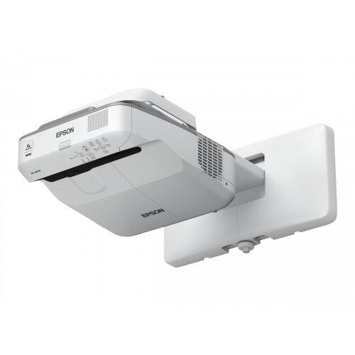 Epson EB-685WS - 3LCD projector - 3500 lumens (white) - 3500 lumens (colour) - WXGA (1280 x 800) - 16:10 - 720p - LAN