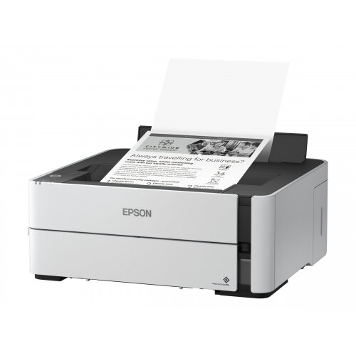 Epson EcoTank ET-M1140 - Printer - monochrome - Duplex - ink-jet - A4 - 1200 x 2400 dpi - up to 20 ppm - capacity: 250 sheets - USB 2.0