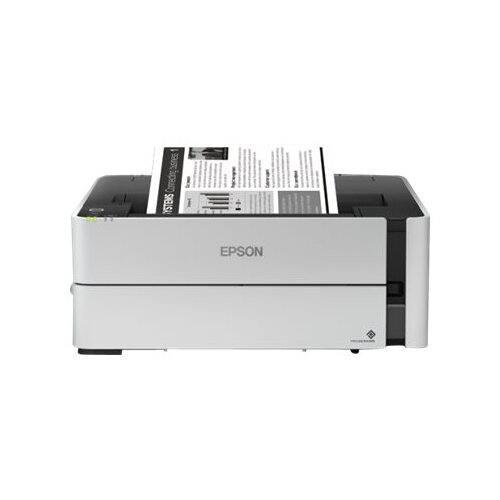 Epson EcoTank ET-M1170 - Printer - monochrome - Duplex - ink-jet - A4/Legal - 1200 x 2400 dpi - up to 39 ppm - capacity: 250 sheets - USB 2.0, LAN, Wi-Fi