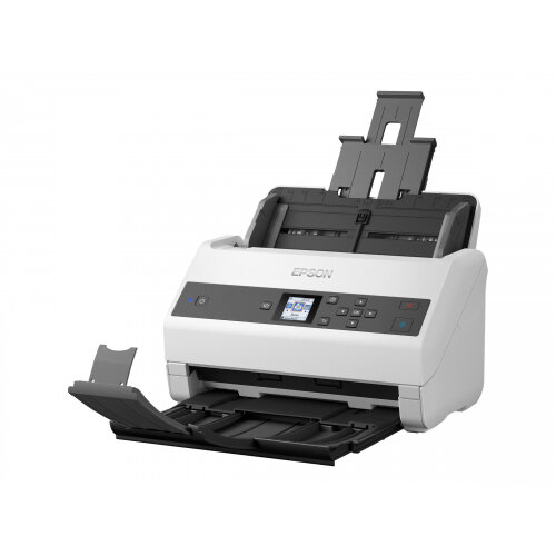 Epson WorkForce DS-870 - Document scanner - Duplex - A4 - 600 dpi x 600 dpi - up to 65 ppm (mono) / up to 65 ppm (colour) - ADF (100 sheets) - up to 7000 scans per day - USB 3.0