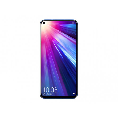 Honor View 20 - Smartphone - 4G LTE - 256 GB - GSM - 6.4&uot; - 2130 x 1080 pixels (398 ppi) - LTPS - RAM 8 GB (25 MP front camera) - 2x rear cameras - Android - phantom blue