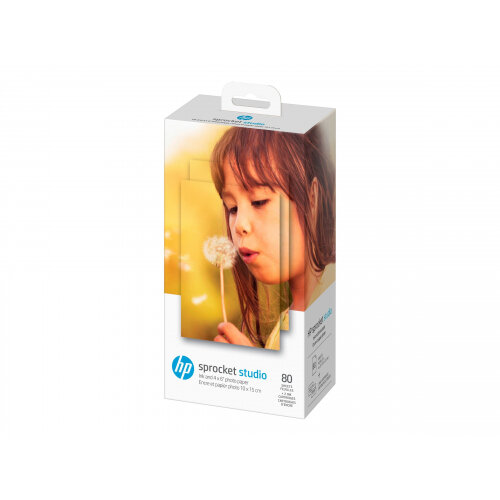 HP - 2-pack - original - print cartridge / paper kit - for Sprocket Studio