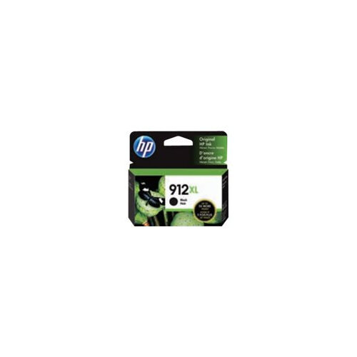 HP 912XL - High Yield - black - original - ink cartridge - for Officejet 8012, 8014, 8015; Officejet Pro 8022, 8024, 8025, 8035