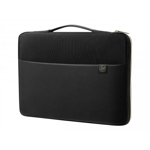 HP Carry Sleeve - Notebook sleeve - 17.3&uot; - black, gold