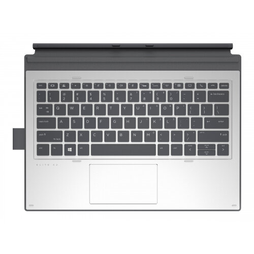 HP Collaboration - Keyboard - with ClickPad - backlit - dock - English QWERTY - for Elite x2 1013 G3