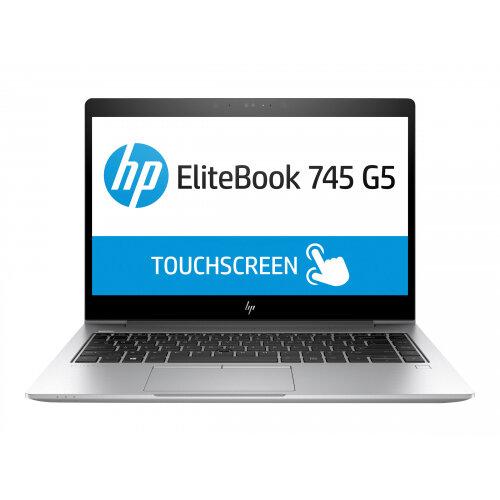 HP EliteBook 745 G5 - Ryzen 5 2500U / 2 GHz - Win 10 Pro 64-bit - 8 GB RAM - 256 GB SSD NVMe - 14&uot; IPS 1920 x 1080 (Full HD) - AMD Radeon Vega - 802.11ac, Bluetooth - kbd: UK