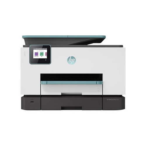 HP Officejet Pro 9025 All-in-One - Multifunction printer - colour - ink-jet - Legal (216 x 356 mm) (original) - A4/Legal (media) - up to 39 ppm (copying) - up to 39 ppm (printing) - 500 sheets - USB 2.0, LAN, Wi-Fi(n), USB host