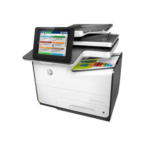 HP PageWide Managed Color Flow MFP E58650z - Multifunction printer - colour - page wide array - 216 x 356 mm (original) - A4/Legal (media) - up to 50 ppm (printing) - 550 sheets - USB 2.0, Gigabit LAN, USB 2.0 host, USB 2.0 host (internal)