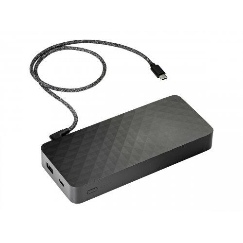 HP Power Pack - Power bank - 20100 mAh - 60 Watt - 3 output connectors (USB, USB-C) - on cable: USB, USB-C - Europe