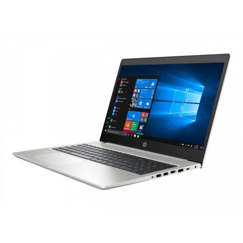HP ProBook 450 G6 - Core i7 8565U / 1.8 GHz - Win 10 Pro 64-bit - 16 GB RAM - 512 GB SSD NVMe, TLC - 15.6&uot; IPS 1920 x 1080 (Full HD) - GF MX130 / UHD Graphics 620 - Wi-Fi, Bluetooth - kbd: UK