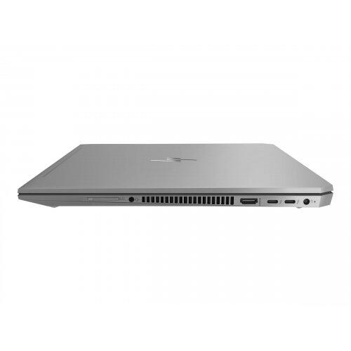HP ZBook Studio G5 Mobile Workstation - Core i7 8750H / 2.2 GHz - Win 10 Pro 64-bit - 16 GB RAM - 512 GB SSD NVMe - 15.6&uot; IPS 1920 x 1080 (Full HD) - Quadro P1000 / UHD Graphics 630 - Wi-Fi, NFC, Bluetooth - kbd: UK