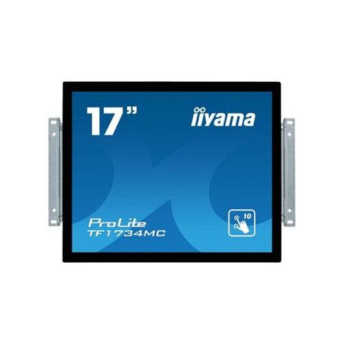 iiyama ProLite TF1734MC-B6X - LED monitor - 17&uot; - open frame - touchscreen - 1280 x 1024 - TN - 350 cd/m&up2; - 1000:1 - 5 ms - HDMI, VGA, DisplayPort - black, matte