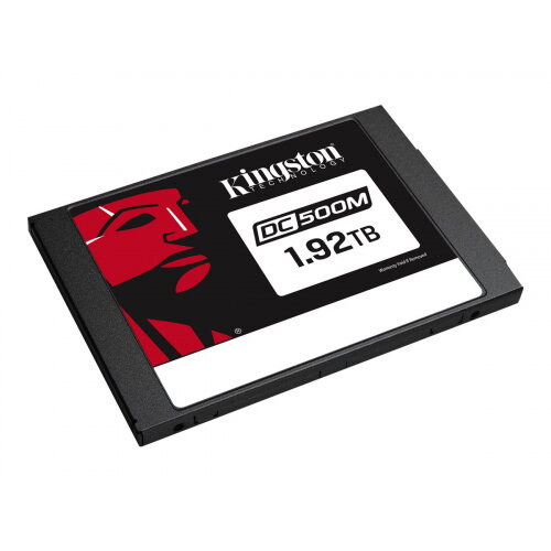 Kingston Data Center DC500M - Solid state drive - encrypted - 1.92 TB - internal - 2.5&uot; - SATA 6Gb/s - AES - Self-Encrypting Drive (SED)