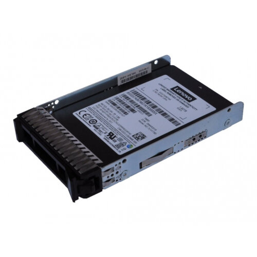 Lenovo PM883 Entry - Solid state drive - 480 GB - hot-swap - 2.5&uot; - SATA 6Gb/s - for ThinkSystem SD530; SN850; SR530; SR550; SR570; SR590; SR650; SR850; SR860; SR950; ST550