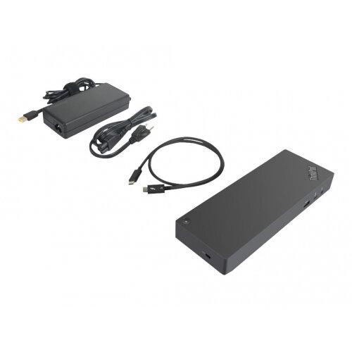 Lenovo ThinkPad Thunderbolt 3 Dock Gen2 - Port replicator - Thunderbolt 3 - 2 x HDMI, 2 x DP, Thunderbolt - GigE - 170 Watt - GB - for ThinkPad P1 20MD, 20ME; P52 20M9, 20MA; P72 20MC; X1 Extreme 20MF, 20MG