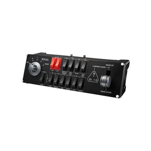 Logitech Flight Switch Panel - Flight simulator instrument panel - wired - for PC