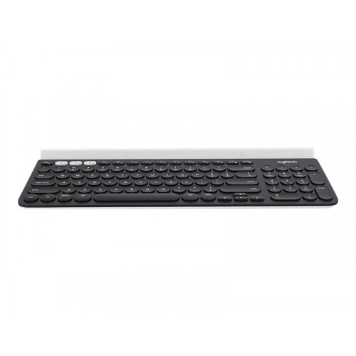 Logitech K780 Multi-Device - Keyboard - Bluetooth - Belgium AZERTY - white