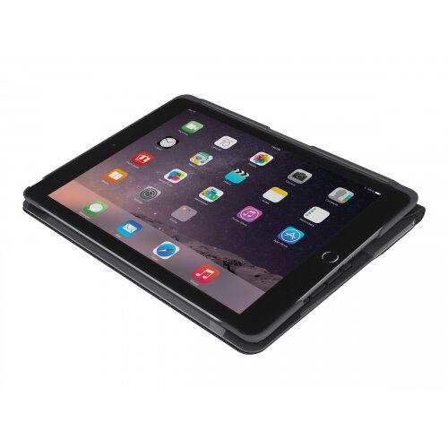 Logitech Slim Folio - Keyboard and folio case - Bluetooth - Italian - black - for Apple 9.7-inch iPad (5th generation, 6th generation)