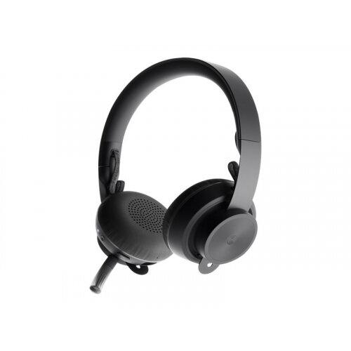 Logitech Zone Wireless Bluetooth - Headset - on-ear - Bluetooth - wireless - active noise cancelling