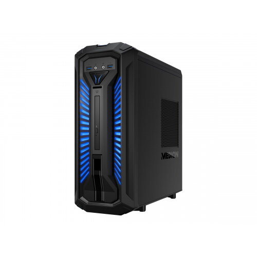 Medion ERAZER P64003 Gaming Desktop - Tower - 1 x Core i5 8400 / 2.8 GHz - RAM 8 GB - SSD 128 GB, HDD 1 TB - DVD-Writer - GF GTX 1060 - GigE, Bluetooth 5.0 - WLAN: 802.11ac, Bluetooth 5.0 - Windows 10 Home - monitor: none