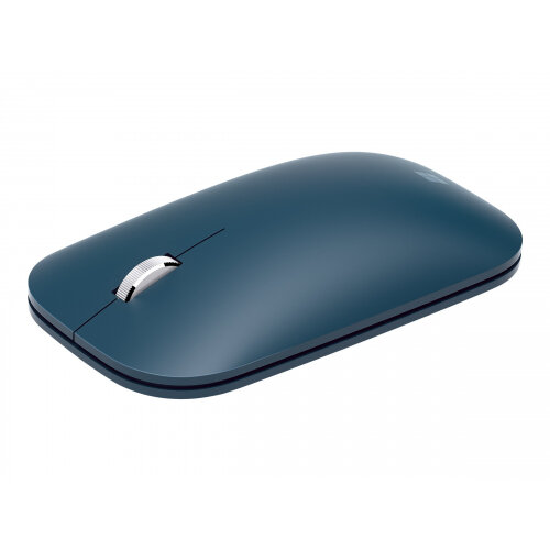Microsoft Surface Mobile Mouse - Mouse - optical - 3 buttons - wireless - Bluetooth 4.2 - cobalt blue - commercial