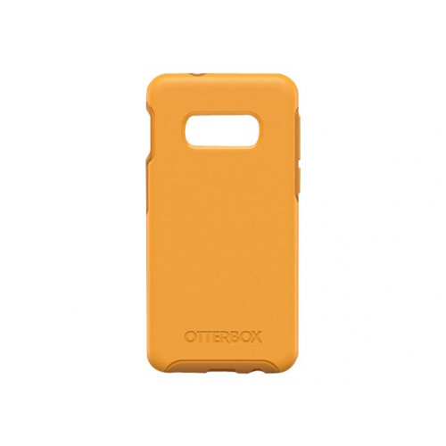 OtterBox Symmetry Series - Back cover for mobile phone - polycarbonate, synthetic rubber - apsen gleam yellow - for Samsung Galaxy S10e