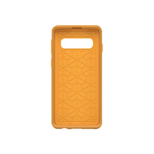 OtterBox Symmetry Series - Back cover for mobile phone - polycarbonate, synthetic rubber - aspen gleam yellow