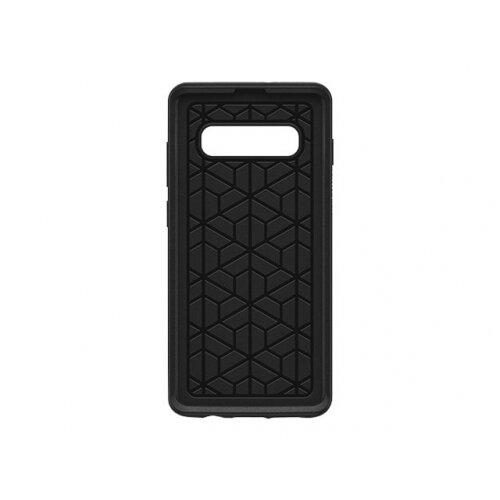 OtterBox Symmetry Series - Back cover for mobile phone - polycarbonate, synthetic rubber - black - for Samsung Galaxy S10+