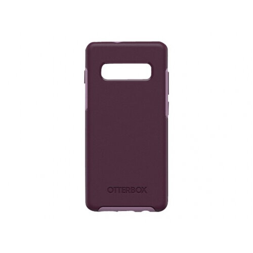 OtterBox Symmetry Series - Back cover for mobile phone - polycarbonate, synthetic rubber - tonic violet purple - for Samsung Galaxy S10+