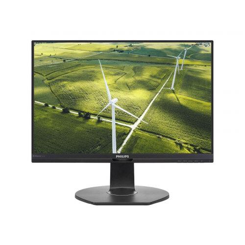 Philips B Line 241B7QGJEB - LED monitor - 24&uot; (23.8&uot; viewable) - 1920 x 1080 Full HD (1080p) - IPS - 1000:1 - 5 ms - HDMI, DVI-D, VGA, DisplayPort - speakers - black texture