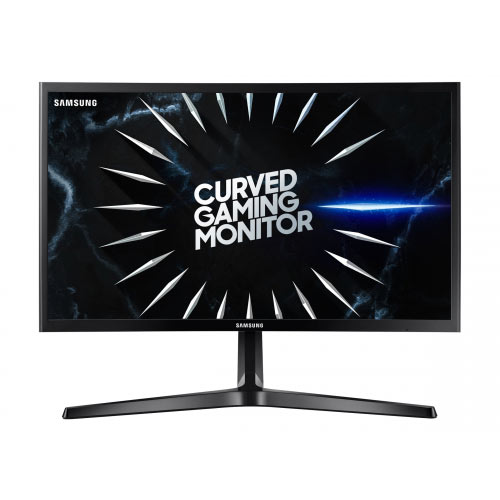 Samsung C24RG50FQU - CRG50 Series - LED monitor - curved - 24&uot; (23.5&uot; viewable) - 1920 x 1080 Full HD (1080p) - VA - 250 cd/m&up2; - 3000:1 - 4 ms - 2xHDMI, DisplayPort - black
