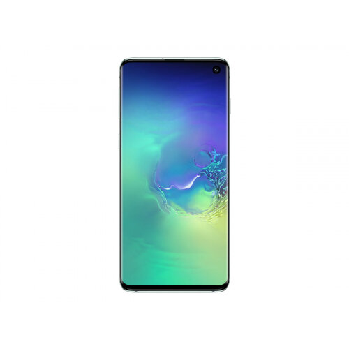 Samsung Galaxy S10 - Smartphone - dual-SIM - 4G Gigabit Class LTE - 128 GB - microSDXC slot - TD-SCDMA / UMTS / GSM - 6.1&uot; - 3040 x 1440 pixels (550 ppi) - Dynamic AMOLED - RAM 8 GB 10 Megapixel - 3x rear cameras - Android - prism green