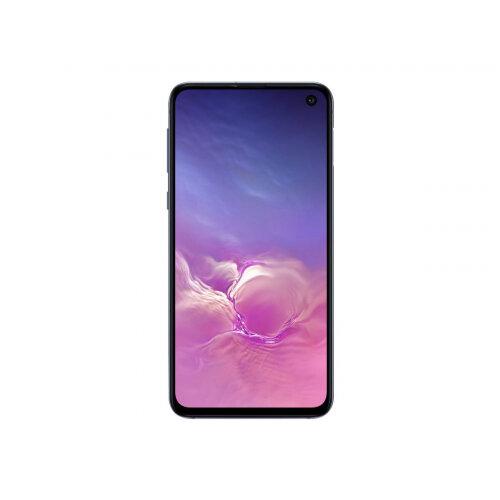 Samsung Galaxy S10e - Smartphone - dual-SIM - 4G Gigabit Class LTE - 128 GB - microSDXC slot - TD-SCDMA / UMTS / GSM - 5.8&uot; - 2280 x 1080 pixels (438 ppi) - Dynamic AMOLED - RAM 6 GB 10 Megapixel - 2x rear cameras - Android - prism black