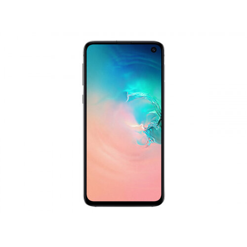 Samsung Galaxy S10e - Smartphone - dual-SIM - 4G Gigabit Class LTE - 128 GB - microSDXC slot - TD-SCDMA / UMTS / GSM - 5.8&uot; - 2280 x 1080 pixels (438 ppi) - Dynamic AMOLED - RAM 6 GB 10 Megapixel - 2x rear cameras - Android - white prism