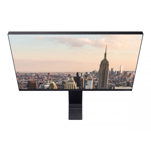 Samsung S27R750Q - SR75 Series - LED monitor - 27&uot; - 2560 x 1440 WQHD - VA - 250 cd/m&up2; - 3000:1 - 4 ms - HDMI, Mini DisplayPort - black