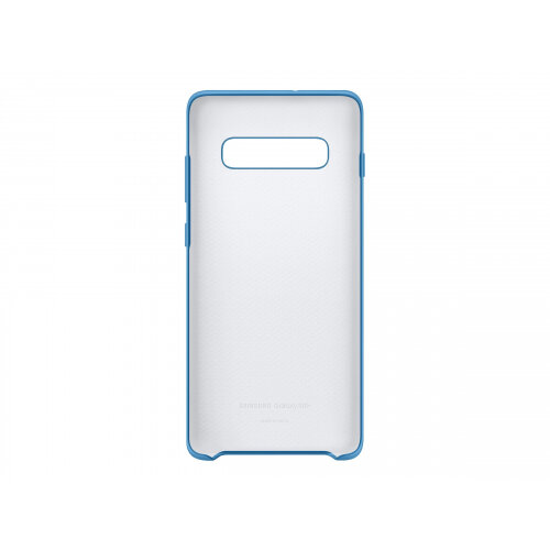 Samsung Silicone Cover EF-PG975 - Back cover for mobile phone - silicone - blue - for Galaxy S10+, S10+ (Unlocked)