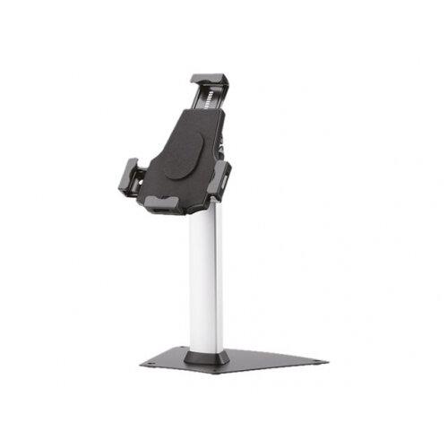 NewStar TABLET-D150SILVER - Stand for tablet - lockable - silver - screen size: 8&uot;-10&uot; - desktop