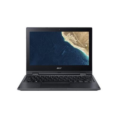 Acer TravelMate Spin B1 B118-G2-RN-P15N - Flip design - Pentium N5000 / 1.1 GHz - Windows 10 Pro in S Mode 64-bi - 4 GB RAM - 64 GB eMMC - 11.6&uot; IPS touchscreen 1920 x 1080 (Full HD) - UHD Graphics 605 - Wi-Fi, Bluetooth - black - kbd: UK