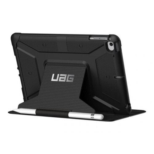 UAG Rugged Case for iPad Mini (2019) ∓ iPad Mini 4 - Metropolis Black - Flip cover for tablet - composite - for Apple iPad mini 4; 5