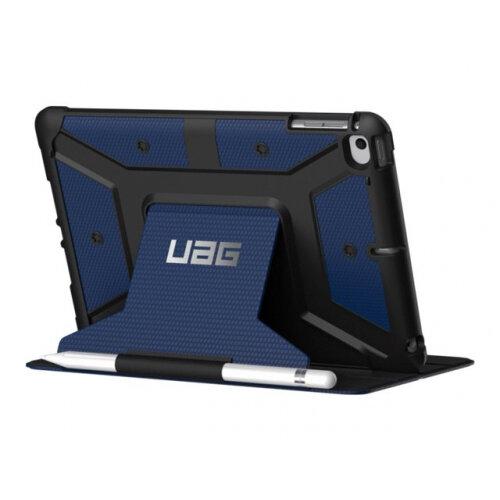 UAG Rugged Case for iPad Mini (2019) ∓ iPad Mini 4 - Metropolis Cobalt - Flip cover for tablet - composite - cobalt - for Apple iPad mini 4; 5