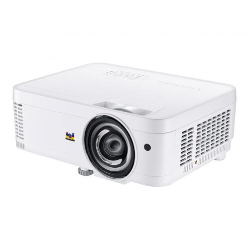 ViewSonic PS600W - DLP projector - 3D - 3500 ANSI lumens - WXGA (1280 x 800) - 16:10 - 720p - short-throw fixed lens