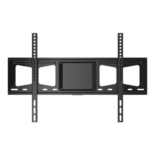 Vision - Wall mount for LCD display - cold-rolled steel - black - screen size: 42&uot;-70&uot;