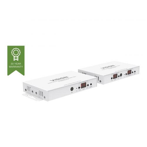 VISION Techconnect TC-MATRIX HDMI-over-IP Matrix Receiver - Wireless video/audio/infrared extender - HDMI - up to 120 m