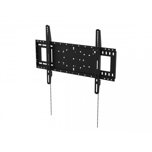 Vision VFM-W6X4 - Wall mount for LCD display - cold-rolled steel - black - screen size: 37&uot;-75&uot;