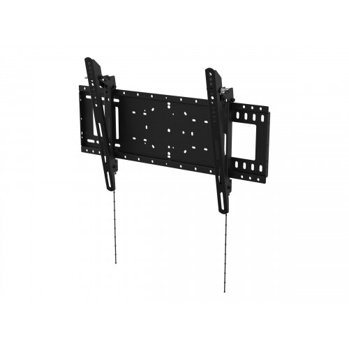 Vision VFM-W6X4T - Wall mount for LCD / plasma panel (tilt) - cold-rolled steel - black - screen size: 37&uot;-75&uot;