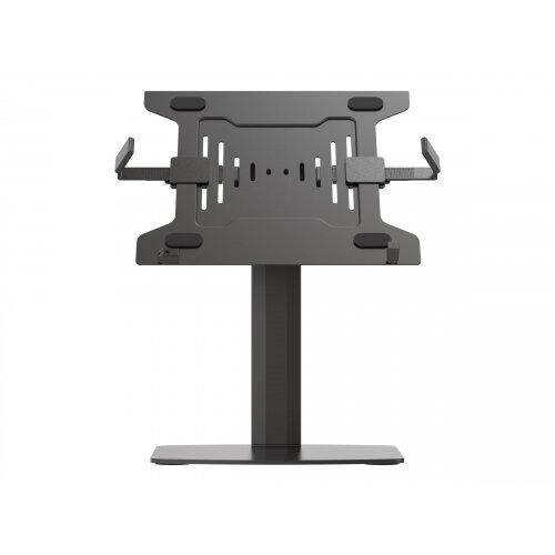 Vision VFM-DSG+S - Mounting kit (desk stand, laptop shelf) for notebook - aluminium, steel - black