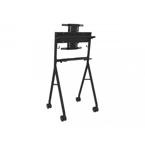 Vision VFM-F10 - Cart for LCD display - steel - black - screen size: 50&uot;-55&uot;