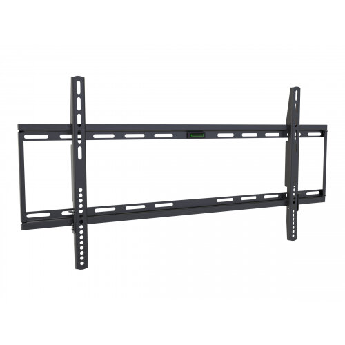 Vision VFM-W8X4V - Wall mount for LCD display - cold-rolled steel - black - screen size: 47&uot;-75&uot;