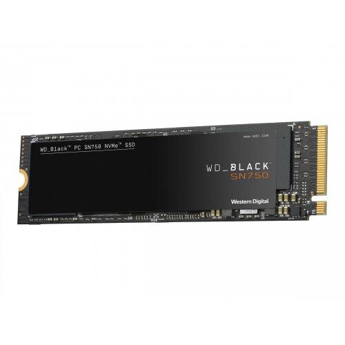 WD Black SN750 NVMe SSD WDBRPG2500ANC - Solid state drive - 250 GB - internal - M.2 2280 - PCI Express 3.0 x4 (NVMe)